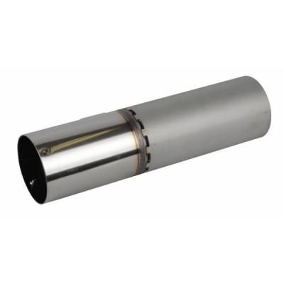 Tube de flamme 80x76x76 - RIELLO : 3008726