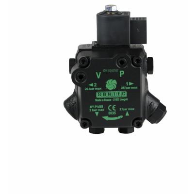 Kit AUV 47 R 9856 + Bride + Connecteur - DIFF