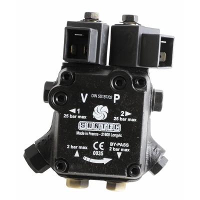 Pompe fioul 2 électrovanne A2L 65 B 9707 2P0500 - SUNTEC : A2L65B97072P0500