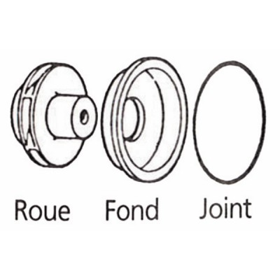 Kit pezzi idraulici Phe13 - SALMSON : 4004116