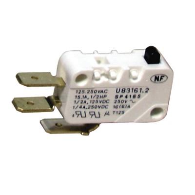 Mikroschalter mit Umschaltkontakt 10A (3) ZAEGEL HELD  - ZAEGEL HELD: A814350