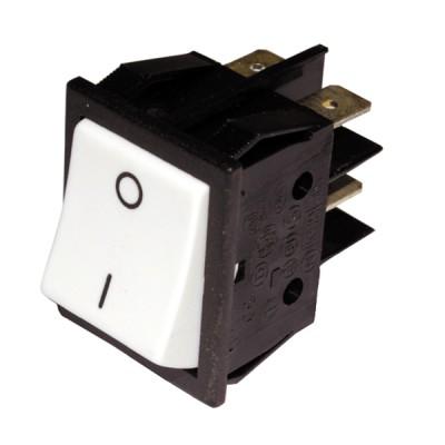 Schalter Modell für ZH weiß   - ZAEGEL HELD: A814384