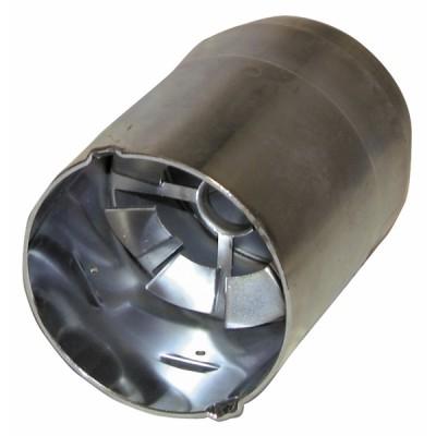 Tubo fiamma HS 10 deflettore saldato - BENTONE AHR : 11934005