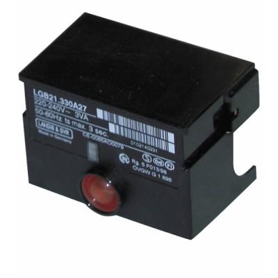 Boîte de contrôle gaz LGB 21 550A27 - SIEMENS : LGB21 550A27