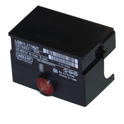 Boîte de contrôle LGB41 258A27 - SIEMENS : LGB41 258A27