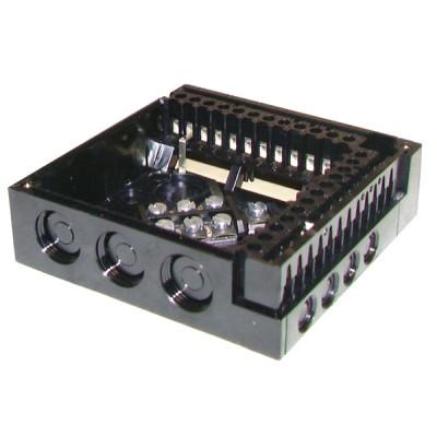 Sockelplatte für Steuergerät LANDIS und  GYR STAEFA - SIEMENS  AGM410.490500  - SIEMENS: AGM410490500