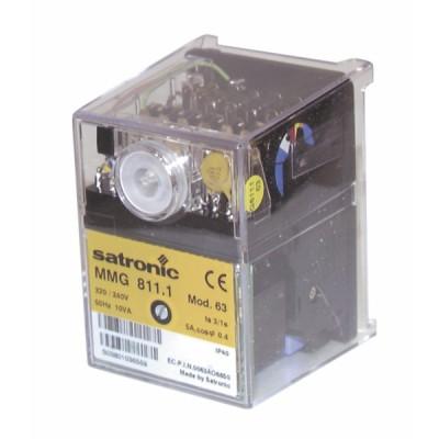 Boîte de contrôle SATRONIC gaz MMG 811-63 - RESIDEO : 0640420U