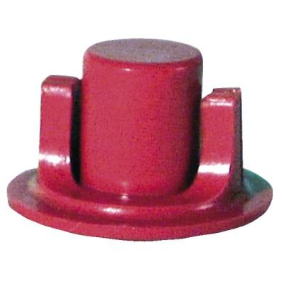 Accouplement longueur 14 rouge (X 6) - DIFF