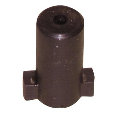 Details der direkten Kupplungen - Nasenträger - Kupplungsherz Länge 30 schwarz (X 6) - DIFF
