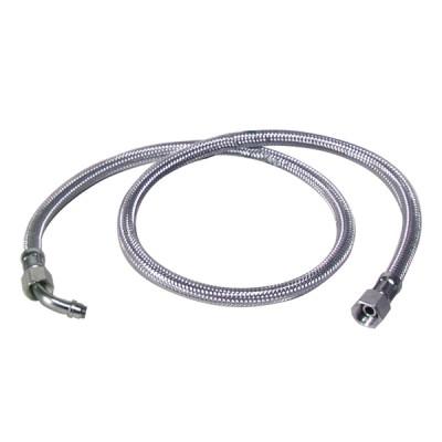"""Flexible fioul F3/8"""" x F14/150 à bague coude 45° (X 2) - BAXI : SRN066976"""