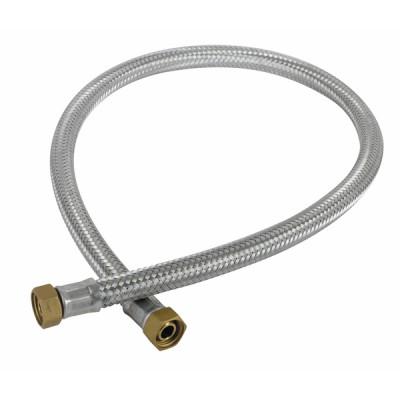 "Flexible gasóleo H1/2"" x H1/2"" recto lg 1200mm - DIFF"