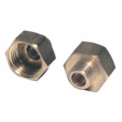 Racor de reducción H1/2 x M1/4  (X 2) - DIFF