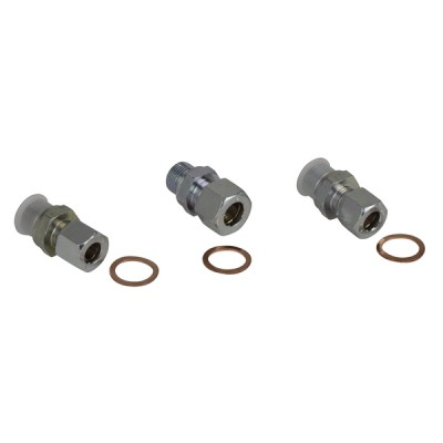 Set de 3 conectores FLOCOTOP I 3/8 (X 3) - AFRISO : 1140157