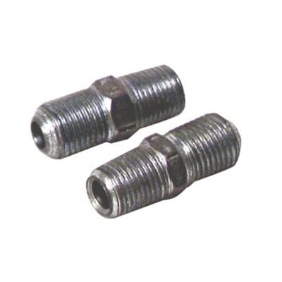 """Nipple M1/8"""" x M10/100  (X 2) - DIFF"""