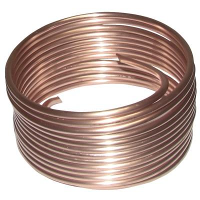Weichgeglühtes Kupferrohr Krone von 5m (3mm x 5mm)  - DIFF