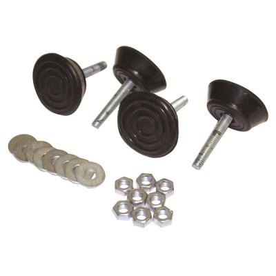 Ammortizzatori antivibrazione carico 45 kg (X 4)