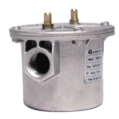 """Filtre gaz Série G2 à prise de pression FF3/4"""" - WATTS INDUSTRIES : 007.0061.000"""