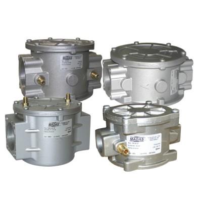 "Filtre gaz FM 2b prise pression G1/8"" FF1""1/4 - MADAS : FM05 D50"