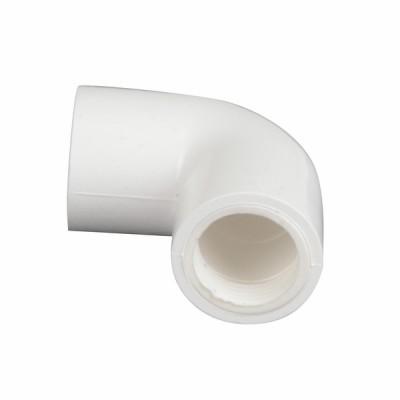 Gomito 90°C e guarnizioni per tubo condensa ø20 - DIFF