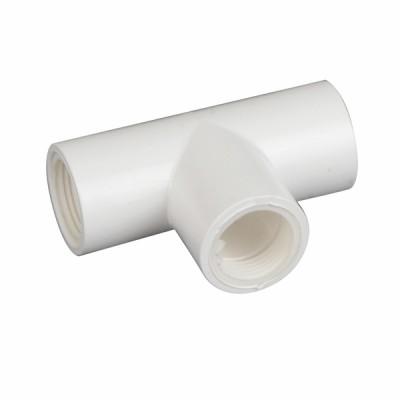 Detentore diritto 90°C e guarnizioni per tubo condensa ø20 - DIFF