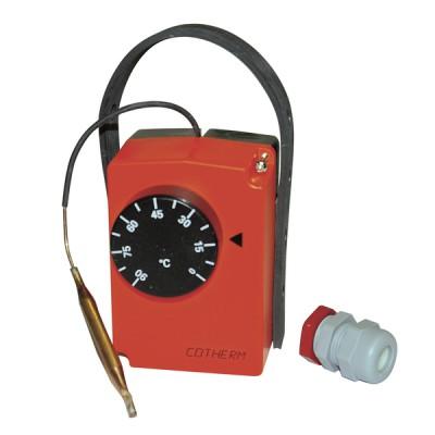 Aquastat en boîtier à applique type THAHR001 - COTHERM : THAHR001