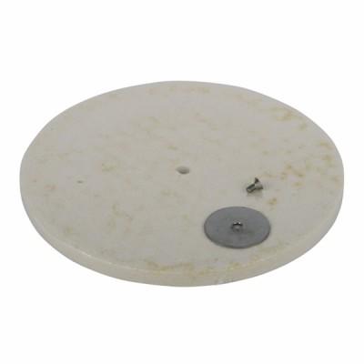Aislante de cerámica trasera - CHAFFOTEAUX : 65103361