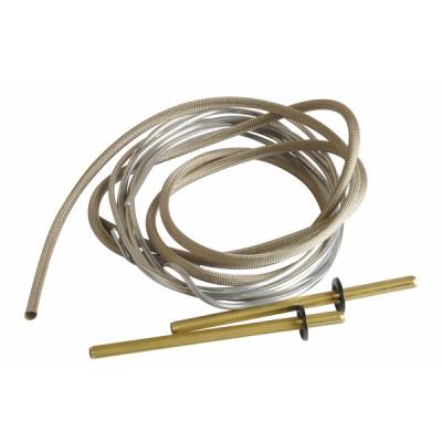 Fil aluminium + connecteur électrode - RENDAMAX : 65108214
