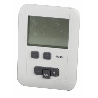 Thermostat à piles - HAGER : EK570