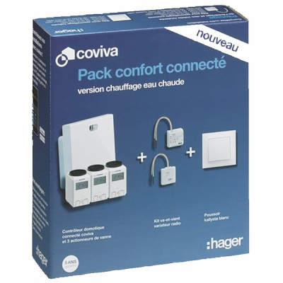 Heating kit COVIVA  - HAGER : PACKCOVIVAEC
