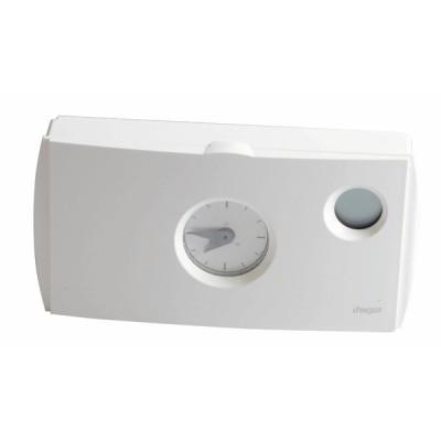 Termostato ambiente programmabile 230V - HAGER : 56512