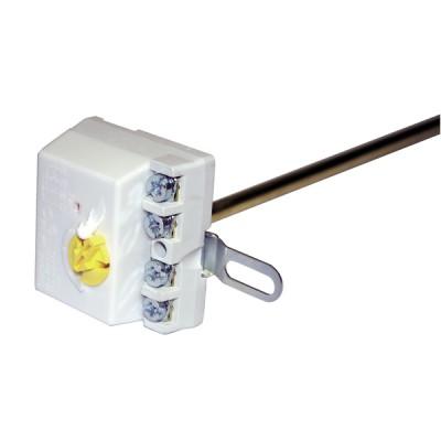 Thermostat mit Metallstift COTHERM TUS 370 mit Laschen bis 83°C - COTHERM: TUS0002107