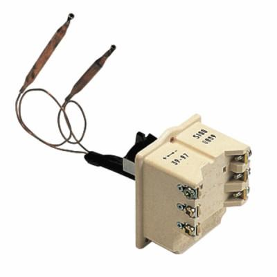 Thermostat Warmwasserbereiter COTHERM Typ BTS 450 Modell mit 2 Fühlern bis 110°C - COTHERM: KBTS900407