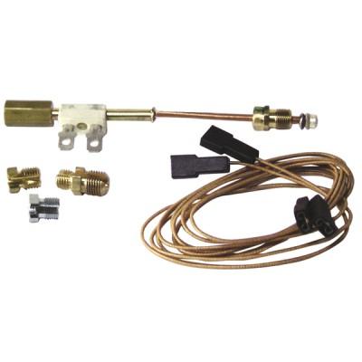 "Thermoelement Unterbrecheranschluss universales Thermoelement (Anschluss M8 - M9 - M10 - 11/32"") + Kabel 1m - DIFF"