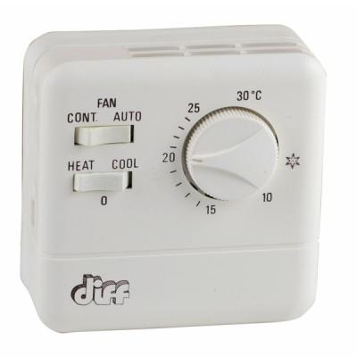 Einfacher Raumthermostat Typ TR 11  - DIFF