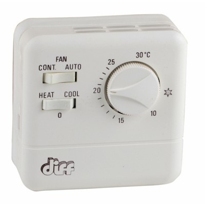 Thermostat d'ambiance simple TR 11 - DIFF