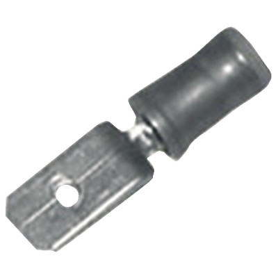 Kabelschuhe Männliche Flachsteckhülse   (X 12) - DIFF: 802124