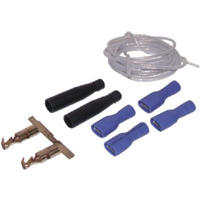 Standard Hochspannungskabel Set anpassbar auf mehrere Gasheizkessel ZAEGEL HELD - ELM usw. ...  - DIFF