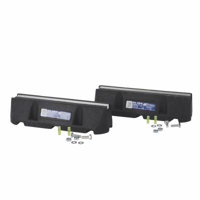 Paire de support RUBBER FT XL450 - DIFF