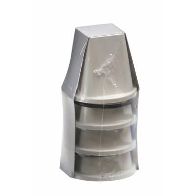 Cône support 500kg 105 x 90 x 55 (X 4) - DIFF
