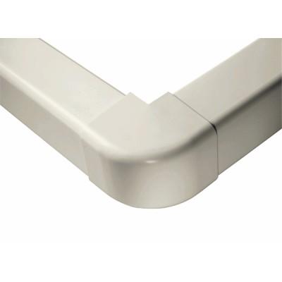 Angle externe 140 x 90 blanc crème 9001 - DIFF