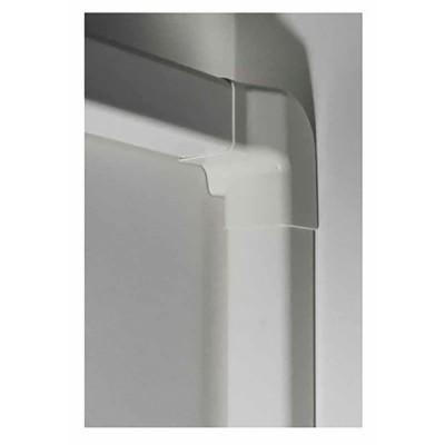Angolo verticale diritto 80x60 bianco crema 9001