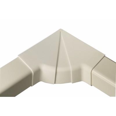 Angle intérieur réglable 60 x 80 blanc crème 9001 - DIFF