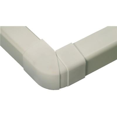 Adjustable external angle 60x80 cream-coloured 9001 - DIFF