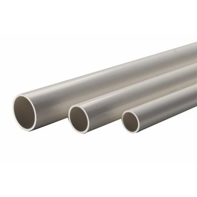 Tube rigide condensat 2m Ø20/18 pvc blanc  (X 15) - DIFF