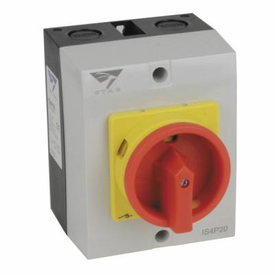 Interrupteur de proximité 4P 32A - DIFF