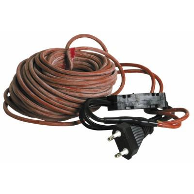 12m 220V mit integrierter Steckdose und Thermostat   - DIFF
