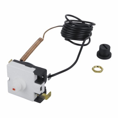 Limit safety thermostat 120°C - capillary 1.5m (r)  - BOSCH THERMOTECH : 87168419910