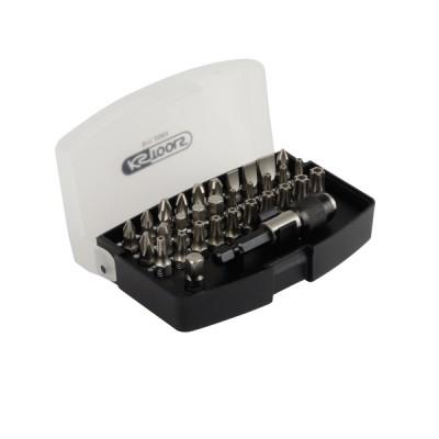 Set of 32 screwdriver bits