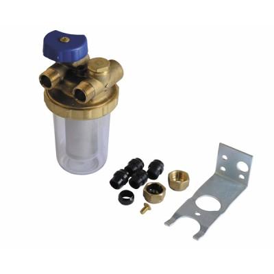 Heizölfilter Zweirohr AG3/8 - GIACOMINI: N1UY012