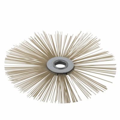 Flat roller brush PEEK Ø 200mm - DIFF